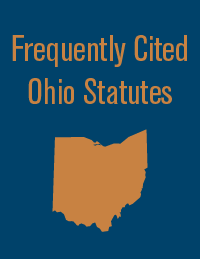 Frequently Cited Ohio Statutes 2020