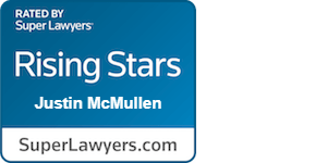 Justin McMullen `Rated by SuperLawyers` Rising Stars